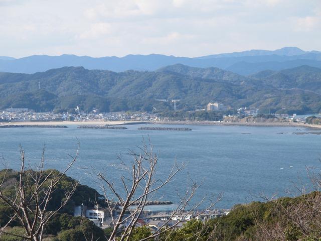 金比羅山から見える浜島