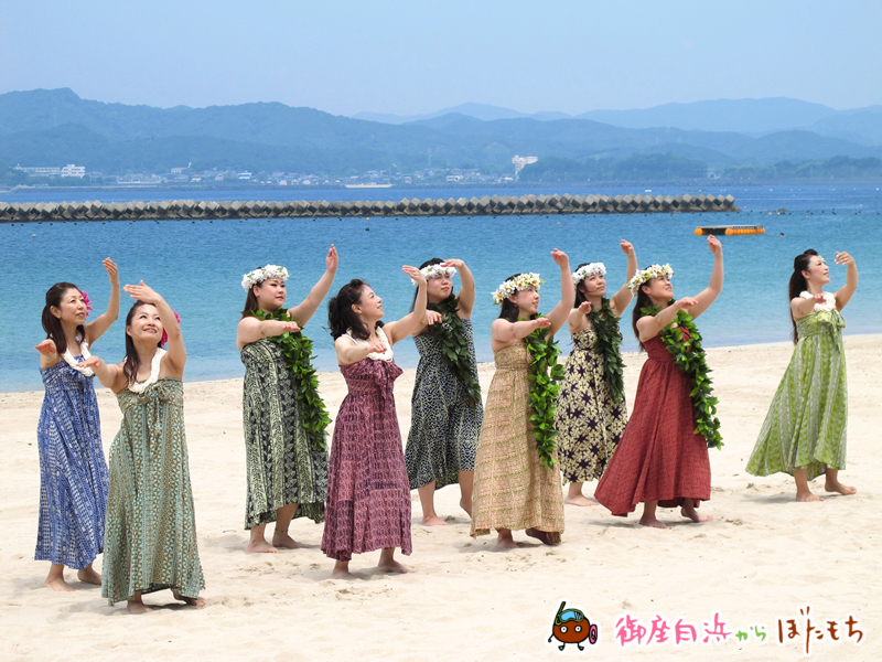 Hula studio kai lani(フラスタジオカイラニ)によるフラダンスその2